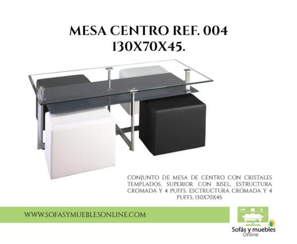 MESA CENTRO REF. 004 130x70x45.