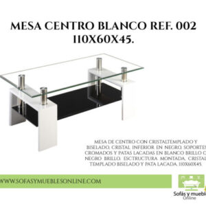Reformas Mesa Centro Yecla