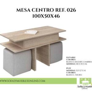 Fabrica Mesa Centro Murcia