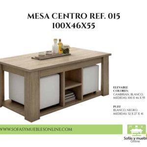 Oferta Distribuidor Mesa Centro
