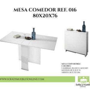 CONSOLA CONVERTIBLE REF. 016 80X20X76